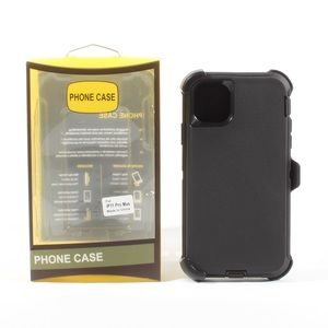 iPhone 11 Pro Max Hybrid Defender Case Black NEW